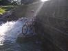 06.04| Primeiro banho de BARRAGEM !